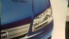 Fiat Idea 2005-06 UK Market Sales Brochure Eleganza Dynamic Active