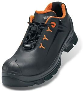 uvex 2 VIBRAM Sole safety shoe S3 -100% Metal Free. ESD Rated. Leather Outer