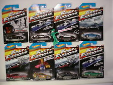 2015 Hot Wheels FAST & FURIOUS Complete SET 8∞NISSAN∞SUPRA∞CHARGER∞SUBARU∞BUICK
