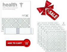 6 Box Airx Health 20X20X1 Merv 13 Pleated Air Filter Made In Usa Furnace Filter