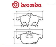 P59048 Kit pastiglie freno, Freno a disco (MARCA-BREMBO)