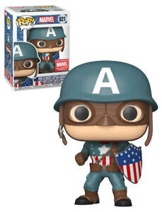 Funko POP! Marvel #821 WWII Ultimates Captain America Collector Corps Exclusive