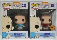 ON HAND Funko POP Tommy Blue Shirt #225 & CHASE Red Rugrats Vinyl Figures