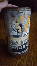 Vintage advertising Red Indian  One Imperial Quart Motor Oil Can