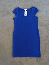 BNWT! H & M Cobalt Blue Cap Sleeve Dress, Size M