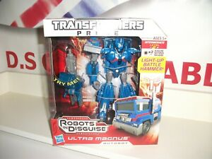 transformers prime ULTRA MAGNUS light up hammer.BRAND NEW MINT IN  SEALED BOX.