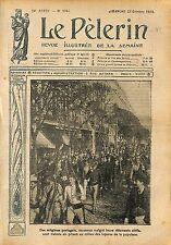 Révolution du 5 octobre Proclamation la République portugaise 1910 ILLUSTRATION