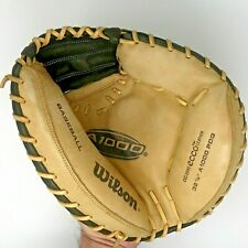 """Wilson A1000 PDG Series Right Hand Thrower 32.5"""" Leather Catchers Mitt"""