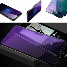 3D Anti-Blue Ray Tempered Glass Screen Protector For iPhone X XR Xs Max 8 7 Plus