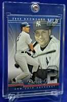 DEREK JETER FLEER SHOWCASE NEW YORK YANKEES LEGEND HOF 39