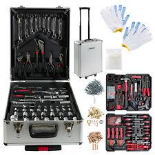 Arebos© 1200-tlg Alu Werkzeugkoffer Werkzeugset Werkzeugkiste Werkzeugbox Trolly
