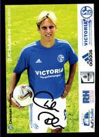 Christian Poulsen Autogrammkarte FC Schalke 04 2002-03 Original Sign+A 116939