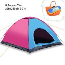 8 Berth Tent Waterproof Family Camping Eight Man Tent