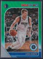 2019-20 HOOPS PREMIUM STOCK GREEN PRIZM LUKA DONCIC #39