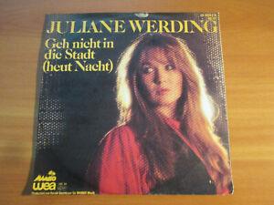 80er Jahre - Juliane Werding - Geh nicht in die Stadt