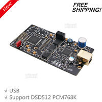XMOS XU208 Isolated USB Digital Interface Card Support for DSD512 PCM768K DAC
