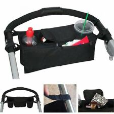 NEW Cup Holder Organizer Bag to fit EVENFLO strollers Wipes Black Pink Grey Blue