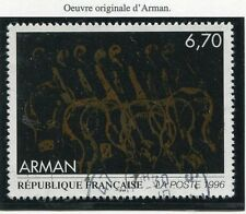 TIMBRE FRANCE OBLITERE N° 3023 TABLEAU ARMAN / Photo non contractuelle
