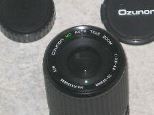 Ozunon 70mm - 200mm Zoom Lens + HOYA 52mm SKYLIGHT + Case - Used