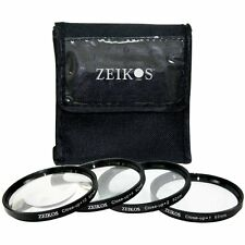 4PC CLOSE-UP MACRO LENS +1 +2 +4 +10 FOR SONY SAL-1680Z 16-80mm LENS