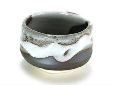"Japanese 5""D Ceramic ""Shinsetsu"" Matcha Bowl Cup Tea Ceremony Made in Japan"