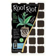 Root Riot 24 Cube Tray/always the freshest stock /new batch weekly/