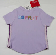 ESPRIT KIDS GIRLS SIZE 3T NWT SHIRT TOP PURPLE SEQUINS STRIPES SPRING SUMMER NEW