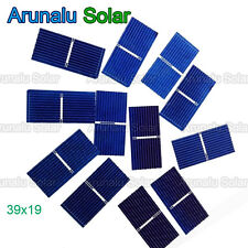 40pcs 39x19 mm Solar Cell Battery Charger Poly Solar Mini Panel Car Cat Toys DIY