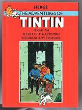 The Adventures of Tintin. Flight 714 Secret of the Unicorn. Rackham METHUEN 1968