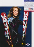 Mikaela Shiffrin 2018 Olympics Signed Autograph 8x10 Photo PSA/DNA COA #1