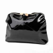 Lancome Shiny Black Women's Travel Case MakeUp Pouch Cosmetic Toiletry Bag