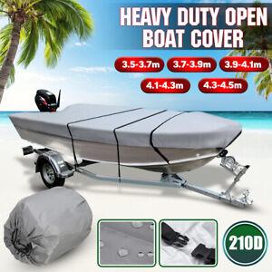Trailerable Heavy Duty Open Boat Cover Waterproof