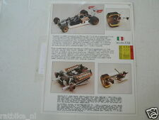 PROTAR FERRARI 312 T FORMULA ONE F1 AND BENELLI 750 SEI 6 CYLINER MOTORCYCLE