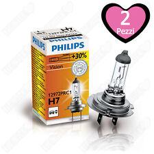 2 X ORIGINALE PHILIPS h7 VISION +30% più luce 12 V/55 W Lampadina Auto Lampada