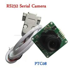 PTC08 RS232 Serial Camera Module RS232/TTL CMOS 1/4 inch DC +5V for Arduino