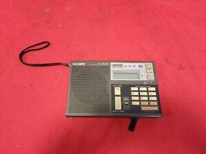 Sony ICF 7600D Weltempfänger Radio
