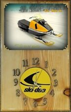 New listing '71 Ski Doo Tnt 640 snowmobile wood clock