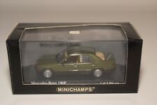 F MINICHAMPS MERCEDES-BENZ 190E 190 E 1984 METALLIC GREEN MINT BOXED