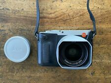 Leica Q (Typ 116) Digital Camera (Silver Anodized) With leather case.