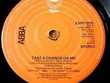 "ABBA - TAKE A CHANCE ON ME   7"" VINYL"