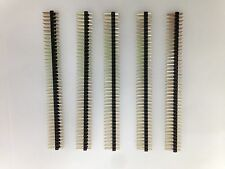 5pcs 2.54mm 2 x 40Pin Double Row Straight Male Pin Header Strip for PCB Ardunio