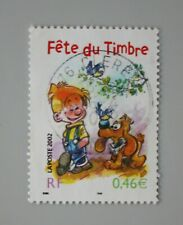 France année 2002 3467 oblitéré Fête du timbre Boule et Bill