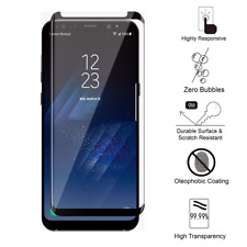 3 Pcs For Samsung Galaxy S8+Plus Tempered Glass Screen Protector Bubble Free