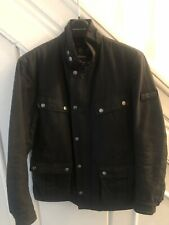 Mens Barbour International Duke Black Waxed Jacket Size S Small - Mint Condition