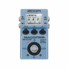 ZOOM Multi Stomp Effector MS-70CDR from Japan New