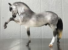 Breyer OOAK Custom Dapple Gray Legionario Horse Signed