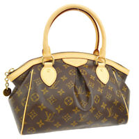 LOUIS VUITTON TIVOLI PM HAND BAG MONOGRAM CANVAS LEATHER M40143 AK37952i