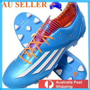 US 8.5 Adidas Mens F30 TRX HG Football Boots Soccer Cleats Blue #eBayMarket