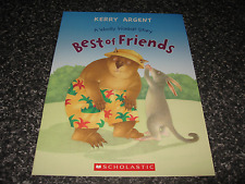 BEST OF FRIENDS - A WOOLLY WOMBAT STORY BY KERRY ARGENT SOFTCOVER BRAND NEW