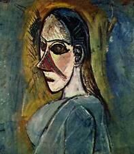"""Vintage 1965 Pablo Picasso Book Plate Print """"Une Demoiselle D'Avignon"""""""